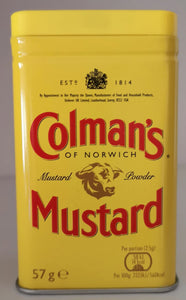 Colman' s Mustard powder, 113 gr. Dose - British Moments