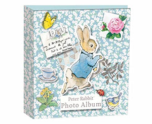 Peter Rabbit / Beatrix Potter, Fotoalbum, 23 cm x 22 cm  für 100 Fotos - British Moments