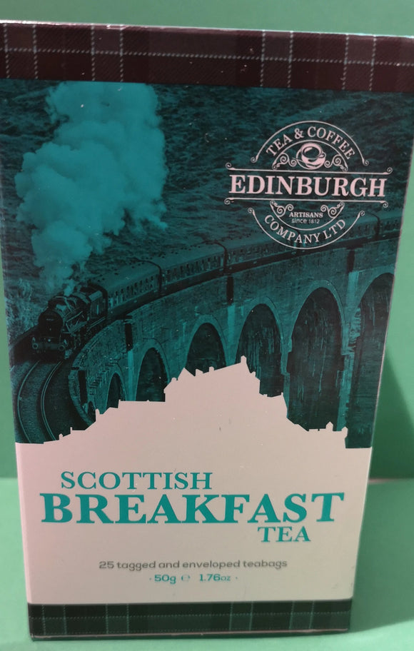 Scottish Breakfast Tea,  25 Teebeutel, 50gr. - British Moments