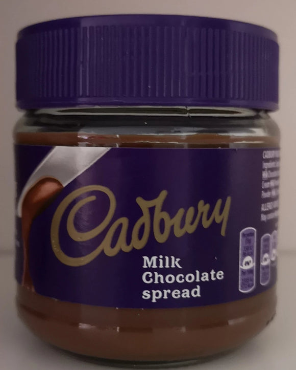 Cadbury spread,  Schokoladen Brotaufstrich im  180 gr. Glas - British Moments