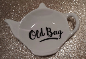 "Teebeutelablage  Keramik ""Old Bag"" - British Moments"