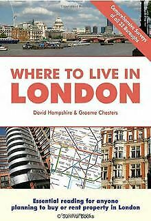 Buch ( englischsprachig, gebraucht) Where to live in London,  David Hampshire & Graeme Chesters - British Moments