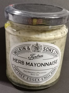 SALE !!!  Wilkin and sons Herb Mayonnaise 165 gr Glas - British Moments