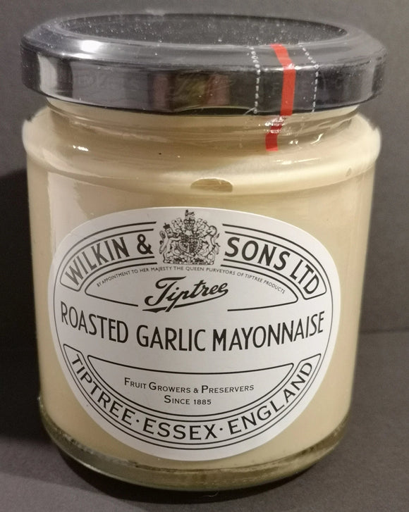 GRILLZEIT Wilkin and sons Roasted Garlic Mayonnaise 165 gr Glas - British Moments
