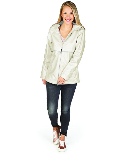 CR New Englander Metallic Rain Jacket