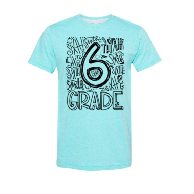 Sixth Grade Graphic Tee
