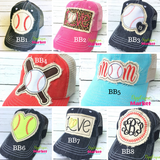 KB Ethos Glitter Trucker Cap - Banana Bug Designs