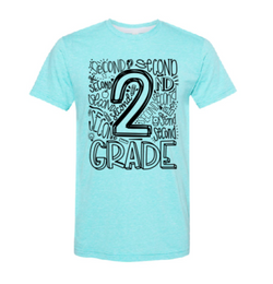 Second Grade Graphic Tee