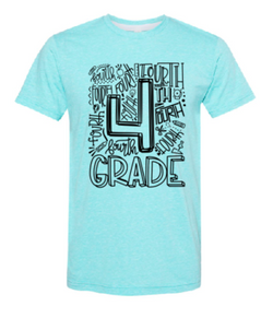 Fourth Grade Graphic Tee