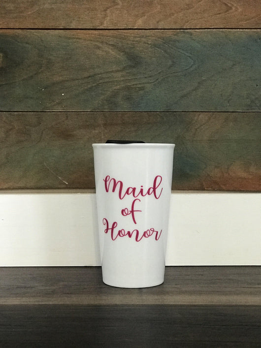 Maid of Honor Ceramic Mug