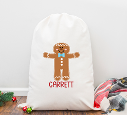 Gingerboy Personalized Santa Sack