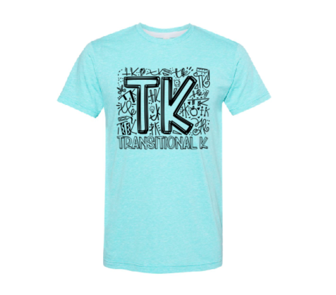 Grade Transitional Kindergarten Graphic Tee