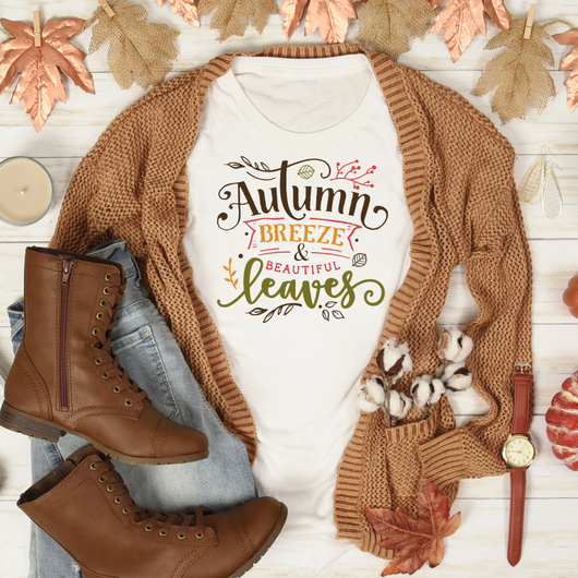 Autumn Breeze & Beautiful Leaves Tee