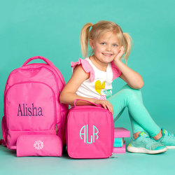 Pink Back to School Set