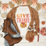 Give Thanks Fall Tee