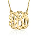 Celebrity Monogrammed Necklace