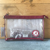 Officially Licensed Clear Stadium Purse