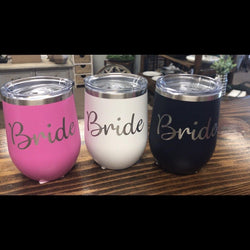 Bridal Party Wine Tumbler