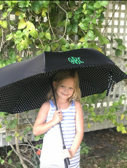 Monogrammed Inverted Umbrella
