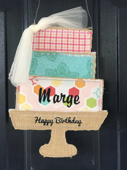 Happy Birthday Door Hanger