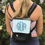 Monogrammed Mini Backpack - Banana Bug Designs