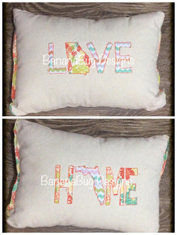 HOME/LOVE Pillow