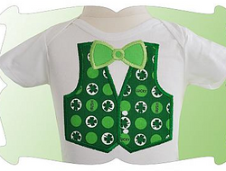 St. Patrick's Vest and Tie