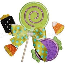 Halloween Candy Applique