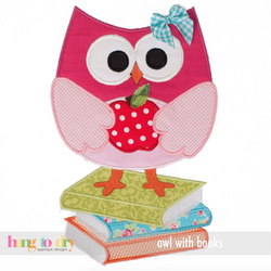 Owl Girl on Book Personalized Tee