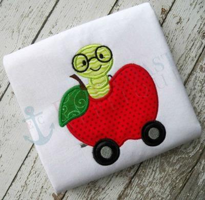 Apple and Worm Car