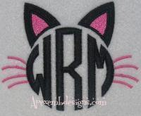 Cat Ears Monogram
