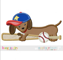 Baseball Bat Dachshund