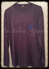 Fin Addicts Apparel Long Sleeve Sport-Tek drifit