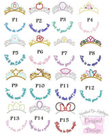 Princess Monogram Frame Tee