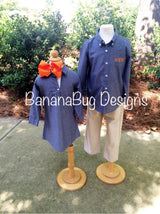 Chambray Tunic- Adult and Youth