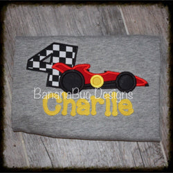 Racecar Birthday Shirt