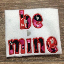 Be Mine Applique