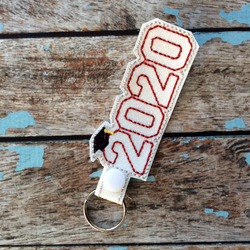 Graduation year keychain