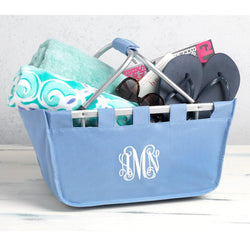 Monogrammed Full-Size Market Tote