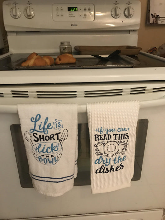 Spice it up kitchen towels