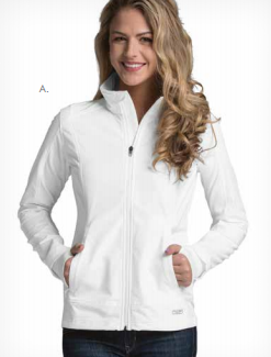Monogrammed Axis Soft Shell Pullover