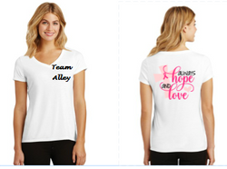 Always Hope and Love Cancer support tee