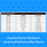 Monogrammed Charles River Crossover Pullover