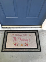 Monogrammed Heavy Duty Door Mat