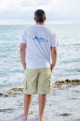 Fin Addicts Apparel Short Sleeve Cotton Tee