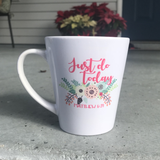 Just Do Today Latte Mug