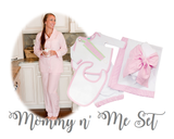 Monogrammed Seersucker Infant Set