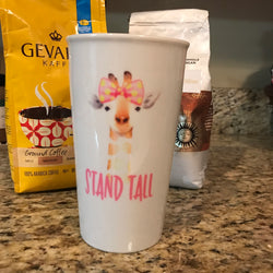 Stand Tall Ceramic Travel Mug