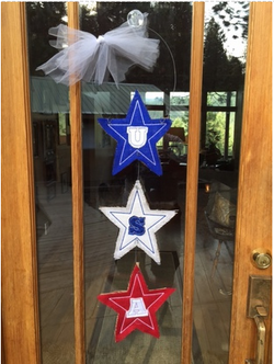 Trio Star Door Hanger