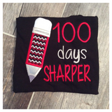 100 Days Sharper Embroidered Tee